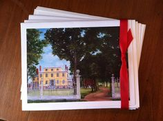 Notecards from oil painting of The Granger by MaryRileyFineArt
