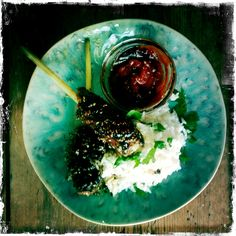 lemongrass pork & coconut rice - Rachel Khoo