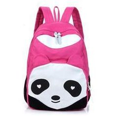 Cute Large-Capacity Panda Fashion Design Quality Backpack 5 Colors
