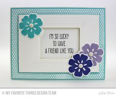 Large Desert Bouquet, Whimsical Greetings, Mini Hexagon Background, Inside & Out Stitched Rectangle STAX Die-namics, Large Desert Bouquet Die-namics, Rectangle STAX Set 2 Die-namics, Rectangle Peek-a-Boo Window Die-namics - Julie Dinn  #mftstamps