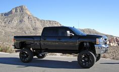 Lifted Chevy Trucks:)