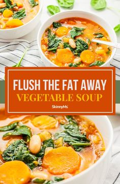 The superfoods in this soupare packed with antioxidants and fiber and aid with flushing toxins and, subsequently, fat from the body. Clean Eating Slow Cooker Recipe, Clean Eating Meal Plan, Clean Eating Dinner, Clean Eating Recipes, Clean Eating Snacks, Healthy Eating, Healthy Food, Meat Recipes, Slow Cooker Recipes