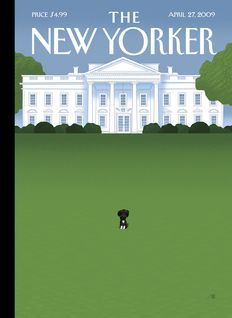 New Yorker Cover -- Bo Obama :)