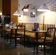 am café prückel, wien, via Flickr. Bar, Dining Table, Restaurant, Furniture, Home Decor, Dinning Table, Restaurants, Interior Design