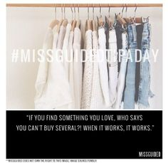 Tips & Tricks…x #Missguided #TipADay #Trends #Style