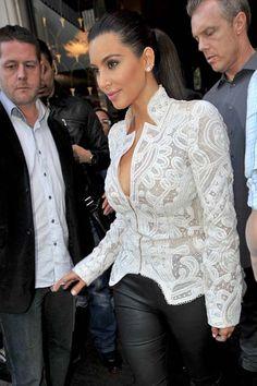 Kim Kardashian's Style Twist