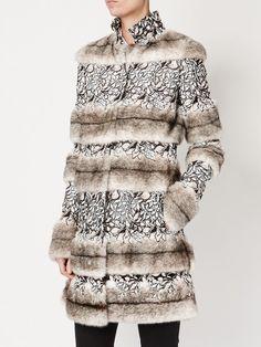 Giambattista Valli embellished high neck coat