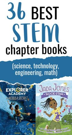 Dicover STEM (science, technology, engineering, art, and math) chapter books for kids that make STEM enticing to elementary & middle school readers. Reading Lessons, Lessons For Kids, Reading Activities, Best Children Books, Toddler Books, Childrens Books, Reading Library, Kids Reading, Writing Lesson Plans