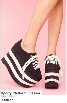 Ideas Sneakers Quotes Funny Shoes For 2019 Sneakers Outfit Work, Tennis Shoes Outfit, Girls Sneakers, Spice Girls Shoes, Sneaker Quotes, Pride Shoes, Funny Shoes, Platform Sneakers, Shoes Online