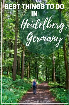 I followed my late grandmother's journal and discovered wonderful things to do in Heidelberg, Germany, including the Philosopher's Way, The Schloss, and of course, the amazing food | Be My Travel Muse | Heidelberg travel guide | Germany travel tips #Heidelberg