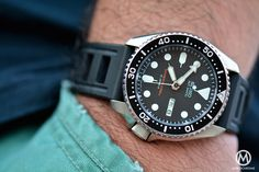 Seiko SKX-007 on an Isofrane dive-band. One of my budget favs.
