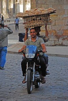 Bread Delivery - Cairo, Egypt