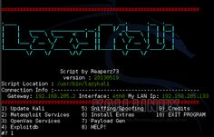 Lazy Kali Scrip for Kali Linux Must have | .:: Dark Site ::.