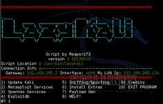 Lazy Kali Scrip for Kali Linux Must have | .:: Dark Site ::.