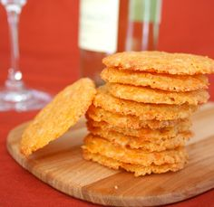 Smoky Chipotle Cheese Crisps