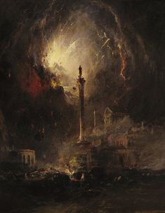 James Hamilton The Last Days of Pompeii - The Largest Art reproductions Center In Our website. Low Wholesale Prices Great Pricing Quality Hand paintings for saleJames Hamilton Pompeii, Dark Fantasy Art, Dark Art, Renaissance Kunst, Les Fables, Creepy Art, A4 Poster, Posters, Classical Art