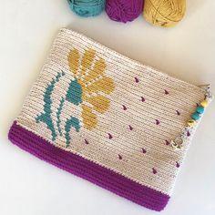 Crochet Clutch Bags, Crochet Wallet, Crochet Phone Cases, Crochet Tote, Crochet Purses, Knit Or Crochet, Tapestry Crochet Patterns, Crochet Purse Patterns, Crochet Headband Pattern