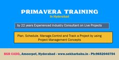 #PrimaveraTraining In #Hyderabad on #LiveProjects http://www.hyderabadevents.com/event/Primavera-Training-In-Hyderabad-on-Live-Projects
