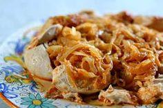 Low Carb Recipes: Low Carb Chicken Paprikash