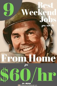 Are you tired of bloggers telling you to fill out surveys when you are looking for ideas to make money? Me too. So, I wrote a blog article about the best weekend jobs for starting a home business. Each job can make $60/hr or more. Click below to see the f Make Easy Money, Quick Money, Make Money Blogging, Make Money From Home, Way To Make Money, Extra Money, How To Make, Start A Business From Home, Work From Home Jobs