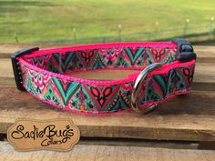 Aztec Tribal dog collar - geometric – Sadie Bug's Collars