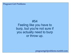 LOL! Seriously! #pregnantproblems #pregnancyfacts #funnypregnancy
