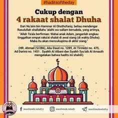 #HaditsofTheDay . . Cukup dengan 4 rakaat shalat Dhuha . Dari Nu'aim bin Hammar Al Ghothofaniy, beliau mendengar Rasulullahshallallahu… Islamic Quotes, Taj Mahal, Pray, Instagram
