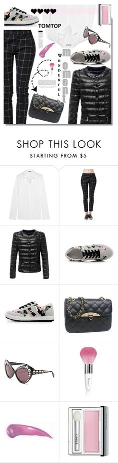 """Tomtop: Wonderful moment!"" by hamaly ❤ liked on Polyvore featuring Jil Sander, Moschino, Kerr®, Guerlain, Clinique, vintage, women's clothing, women, female and woman"