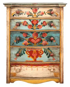 PETER HUNT! Amazing, beautiful, colorful, hand-painted furniture. I wanted to repin some other photos but they were coming up as 'spam' so I found this blog. ~ET
