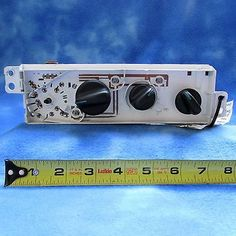 nice 01-05 Chrysler PT AC Heat Climate Control 04885336AA OEM Missing Knob 1805-5 - For Sale