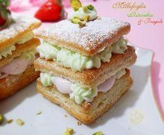 ©Oggi vi cucino così!: #Millefoglie con Mousse di #Pistacchio e #Fragole | Per Re-Cake