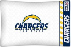 San Diego Chargers Pillow Case