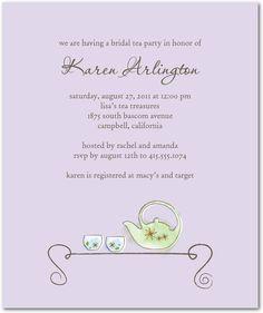 Tea Treasures:Lavender  http://www.weddingpaperdivas.com/product/6593/studio_basics_bridal_shower_invitations_tea_treasures.html