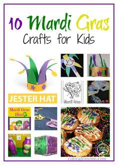 mardi gras snacks kids | 10 Mardi Gras Crafts for Kids | ColoradoMoms.com