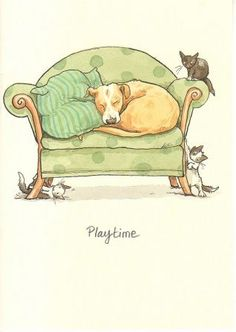 Playtime, juil. 2011 by Anita Jeram