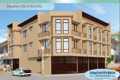 Elegant Metro Manila Properties: DEMONTEVERDE TOWNHOMES I Santa Ana Manila Townhous... Makati, Manila, Filipino, Townhouse, Multi Story Building, The Unit, Mansions, Elegant, House Styles