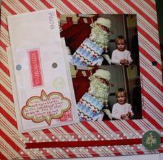 Using a minimalist approach to Christmas Scrapbooking with @Stephanie Medley-Rath