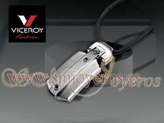 Colgante acero Viceroy Fashion colección Alonso  Cordon negro.  REFERENCIA: 5014C01010  Fabricante: Viceroy