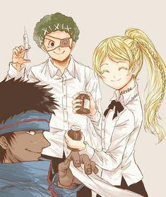 Anime Manga, Anime Guys, Anime Art, Cute Emoji Wallpaper, Anime Backgrounds Wallpapers, Manga Collection, Black Clover Anime, Haikyuu Funny, Tsundere