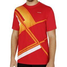 Brandon T-Shirt Men red/orange