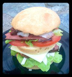 Le méga hamburger au magret de canard, Thermomix