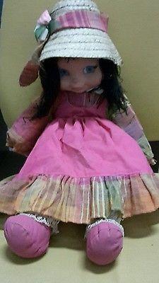 Rara Bambola Doll Poupee' Valentina Furga Anni 70