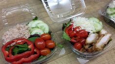 Take out salads for Mt. Abe students on the go!