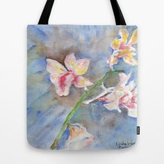 Tropical Orchid Tote Bag by ellisewalburn Orchids, Tropical, Collections, Tote Bag, Bags, Handbags, Totes, Bag, Tote Bags
