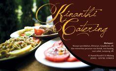 #name card . Kinanthi Catering