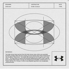 Under Armour logo construction The post Under Armour logo construction appeared first on Design. Under Armour Logo, Creation Art, Logo Creation, Logo Construction, Sports Brand Logos, Logo Guidelines, Logo Process, Graphisches Design, Photo Images