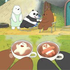 I rmb this episode ! We Bare Bears Human, Ice Bear We Bare Bears, We Bear, Pardo Panda Y Polar, Cartoon Movie Characters, We Bare Bears Wallpapers, Bear Wallpaper, Bear Cartoon, Cute Bears