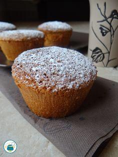 Muffin alla panna e arancia