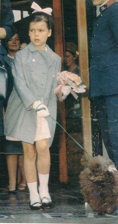 Oliver avec la petite Caroline de Monaco