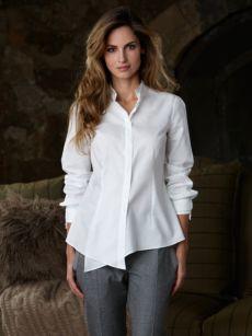 bianca shirt  brunello cucinelli